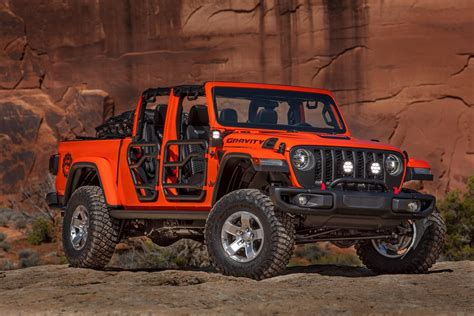 2019 jeep gladiator gravity concept top speed