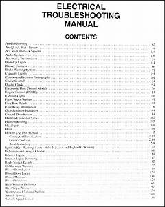 1996 Kia Sportage Electrical Troubleshooting Manual Wiring
