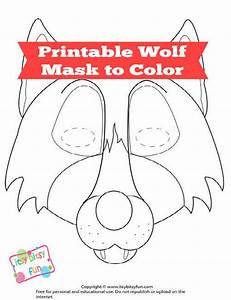 big bad wolf mask printable wwwpixsharkcom images With big bad wolf template