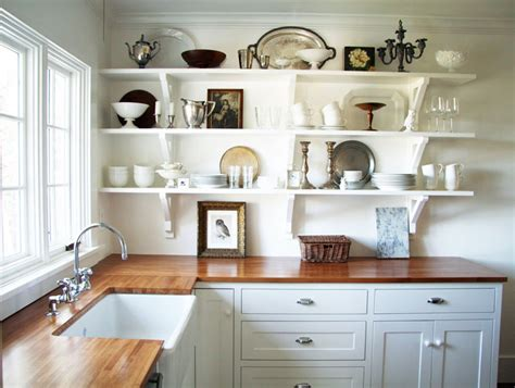 Shelving In Kitchen Ideas by 55 Open Kitchen Shelving Ideas With Closed Cabinets