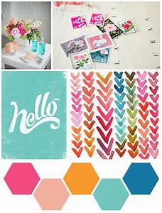 Palette: Love the bright and happy colors, reminds me of ...
