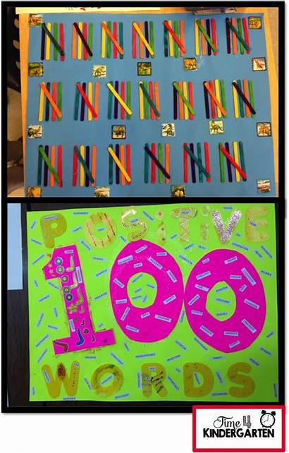 100th Kindergarten Project Days Projects Activities Preschool