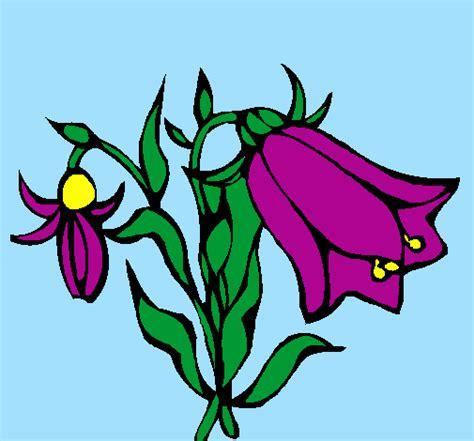 fiori selvatici viola disegno fiori selvatici colorato da utente non registrato