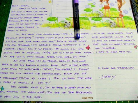 send  letter    friend  sample letters