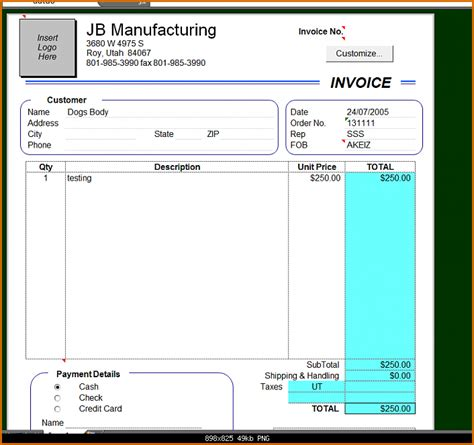microsoft excel invoice 10 microsoft excel invoice template authorizationletters org