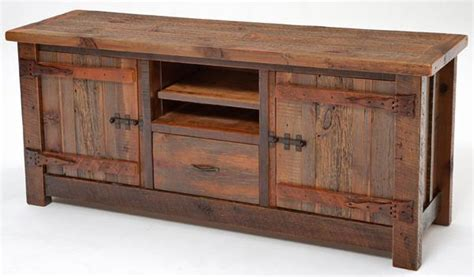barn wood tv stand plans plans