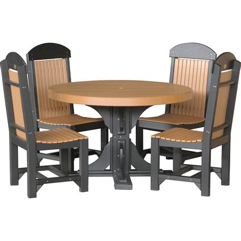 round bar height table and chairs poly 4 39 round table chairs