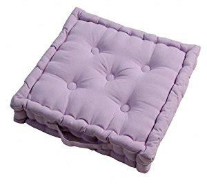coussin pour chaise salon de jardin homescapes coussin de chaise de couleur lavande fait en