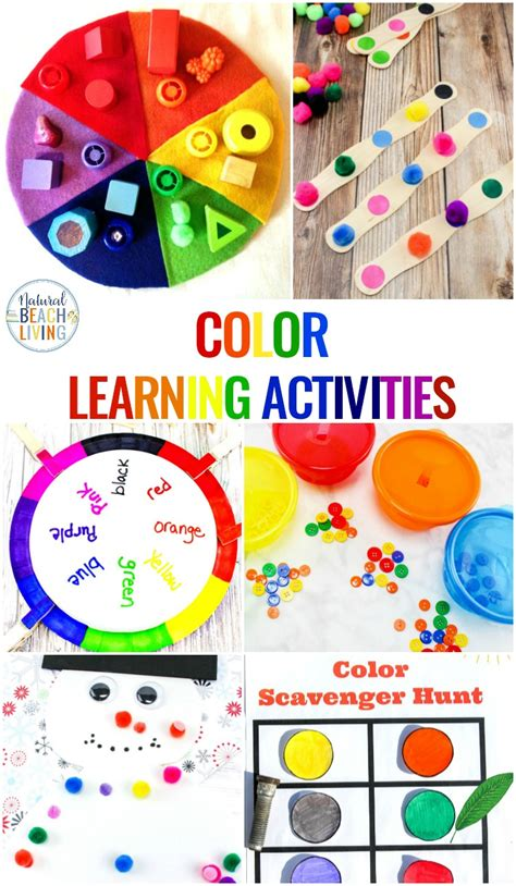 color activities for toddlers preschool and kindergarten 100 | color activities toddlers preschool pin