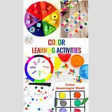Color Activities For Toddlers, Preschool And Kindergarten  Natural Beach Living