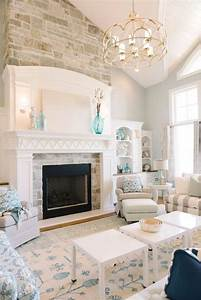 50, Best, Fireplace, Design, Ideas, For, 2021