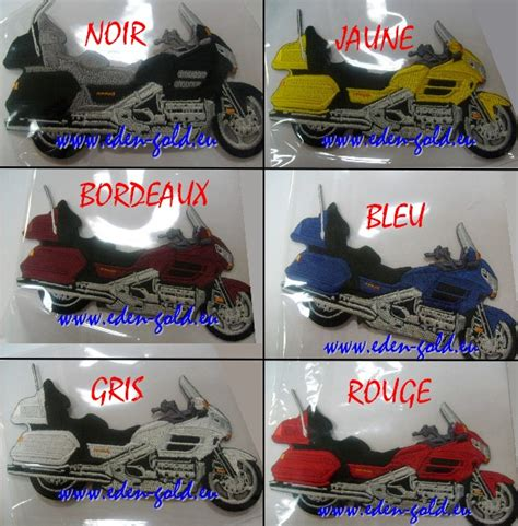 patch goldwing  eden gold specialiste honda goldwing