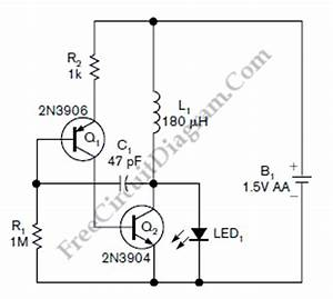 ideas for single aa and aaa batteries electronics chit With watt led driver circuit using a single 15 cell homemade circuit