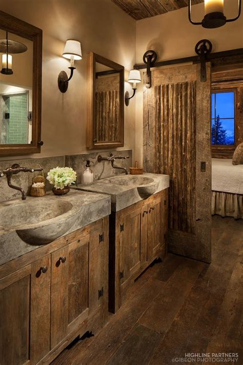 Small Bathroom Rustic Decorating Ideas by 25 Best Ideas About Rustic Bathroom Designs On
