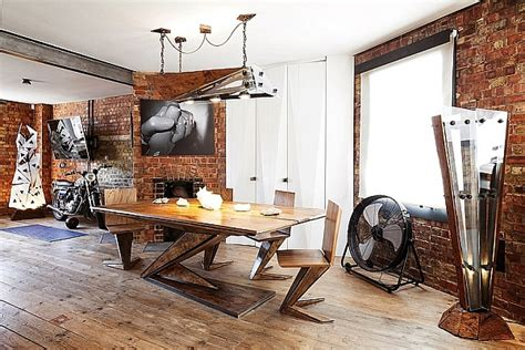 Exposed Brick Walls Meet Sustainable Modern Design In