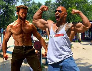 The Rock And Wolverine Steroids