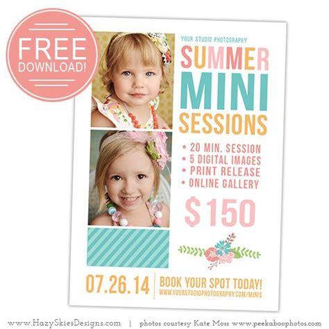 summer mini session template  photographers