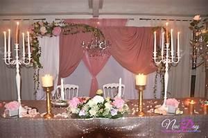 Idee Deco Salle Mariage : new day evenements votre sp cialiste en decoration de mariage ~ Teatrodelosmanantiales.com Idées de Décoration