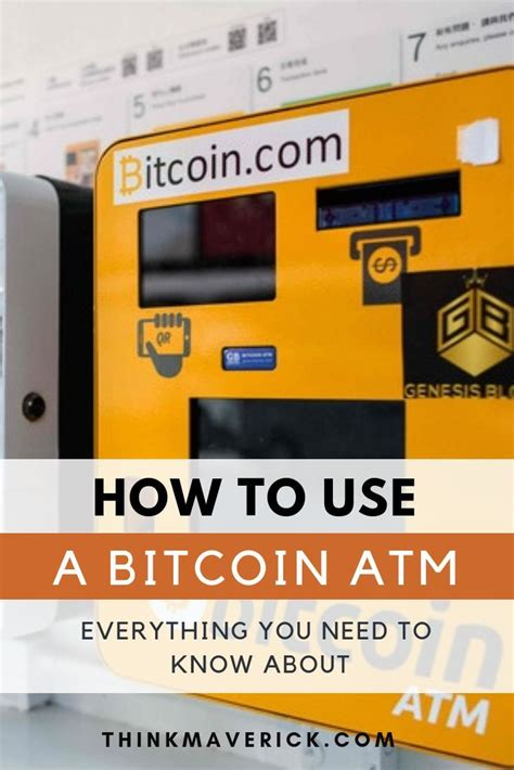 Some models allow you to convert your bitcoin into fiat currency in order to withdraw cash, while others allow you to insert cash to buy bitcoin. How To Use Btc Atm Machine | How To Get Bitcoin Deep Web