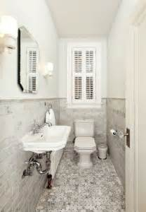bathroom shelves decorating ideas how to make a narrow powder room feel inviting and