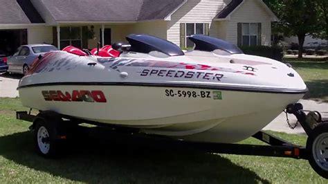 Seadoo Jet Boat Youtube by 1998 Seadoo Jetboat Youtube