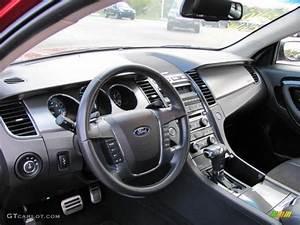 Charcoal Black Interior 2010 Ford Taurus Sho Awd Photo  38641622