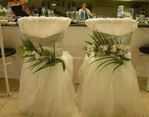 decoration chaise mariage le catalogue d 39 idées