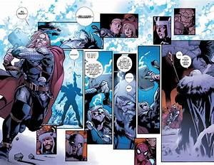 Thor VS Odin Fear Itself Comicnewbies