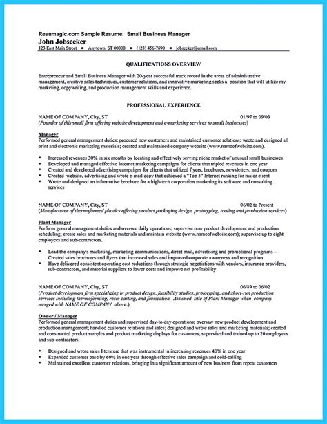 Business Manager Resume make the most magnificent business manager resume for