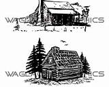 Clipart Cabin Printable Illustrations Vector Copyright Victorian Barn Webstockreview Drawn Hand Initials Alphabet Drawings sketch template