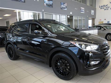 Hyundai Santa Fe Rims by 2017 Hyundai Santa Fe Sport Limited Black Edition This