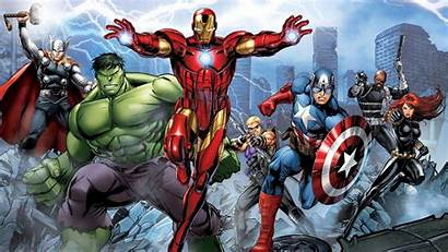 Marvel Comic Avengers Assemble Resolution Wallpapers Background