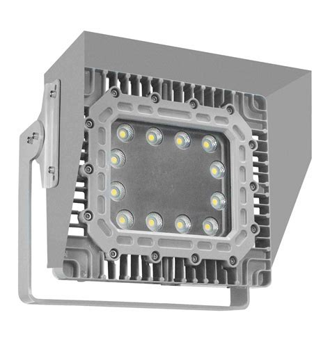 100 watt explosion proof led wall pack light with glare