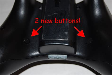 Modded New Black Xbox 360 Controller W2 Extra Buttons
