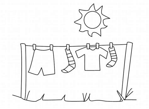 clothes coloring coloring home