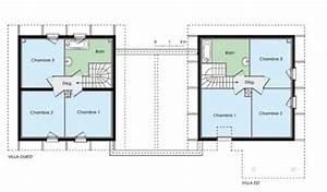 Plan de maison mitoyenne par garage for Plan maison mitoyenne par le garage