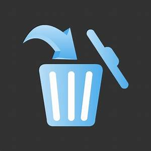 Delete Icon or Trash Icon Free only on Vector Icons Download