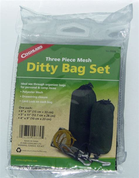 coghlans  travel camping sport ultralight ditty mesh stuff dry snack bags pouch ebay