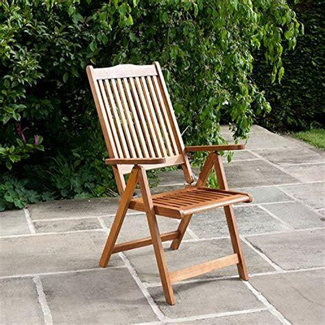 billyoh reclining wooden garden chair