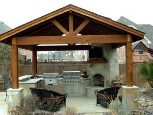Spectacular Outdoor Fireplace Design Plans by Kitchen Outdoor Kitchen Ideas Charming