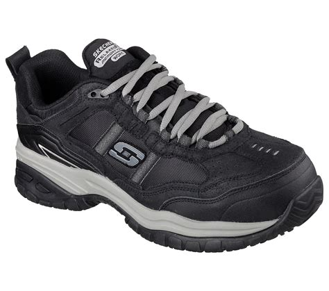 sepatu casual black buy skechers work relaxed fit soft stride grinnell
