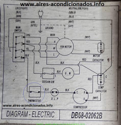 diagrama el 233 ctrico aire acondicionado samsung explicado aires acondicionados