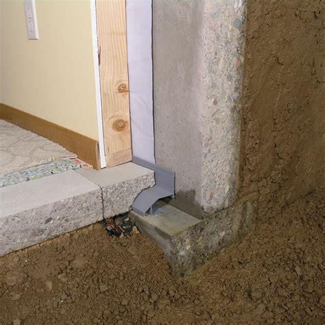 How To Waterproof Interior Basement Walls - interior basement waterproofing footer system drain
