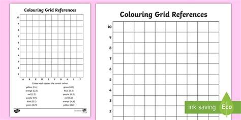 colouring grid references worksheet coordinates coordinates