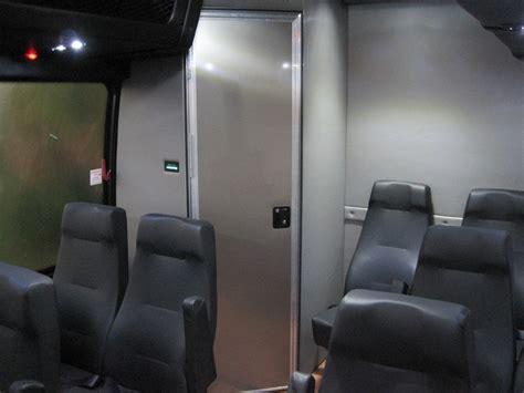 freightliner   passenger bus  restroom toilet
