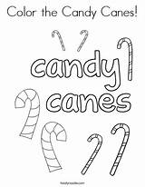 Candy Cane Coloring Canes Noodle Twistynoodle Stick sketch template