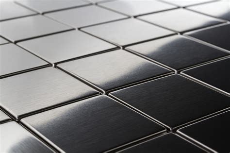 """Square Metal 2x2""""mosaic Stainless Steel Tile"""