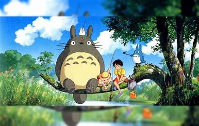 Totoro Neighbor Wallpapers Wallpaperaccess Backgrounds