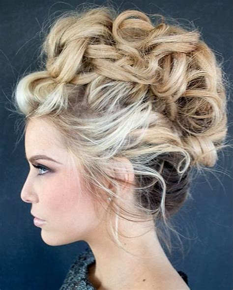 Mohawk Updo Hairstyles by Curly Mohawk Updo Hairstyles Hair