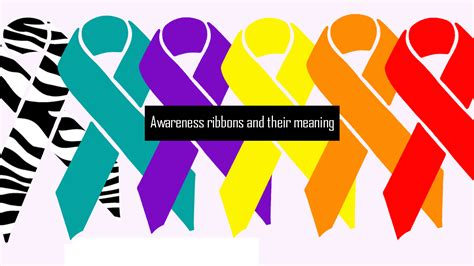 ribbon colors awareness ribbon colors what do they the